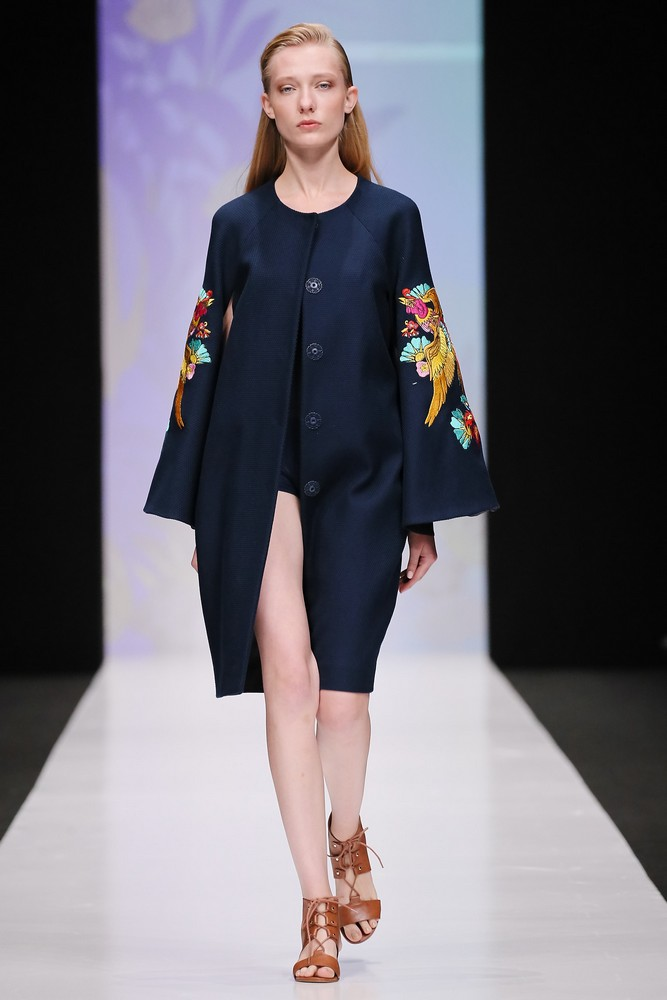 33rd Season of Mercedes-Benz Fashion Week Russia Day 3